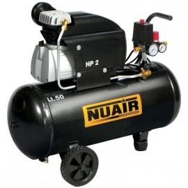 COMPRESSORE COASSIALE LUBRIFICATO NUAIR FC2/50 CM2 V230